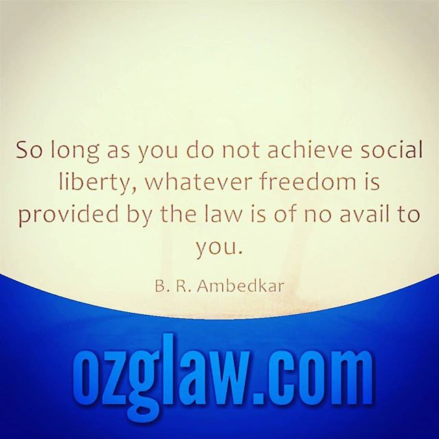 #ozglaw #ozglawyer #ambedkar #lawministry #indianlaw #india #indianconstitution #constitution #socialjustice #socialjusticewarrior #ozgindia #ozg ★ ozglaw.com